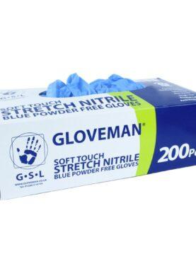 Nitrilové bezpráškové rukavice k jednorázovému  použití– balení 200ks