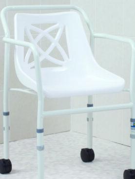 AKCE !! Mobilní sprchové křeslo s nastavitelnou výškou